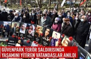 Güvenpark terör saldırısında yaşamını yitirenler...
