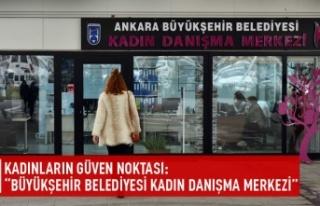 """Kadınların güven noktası: """"Büyükşehir..."""