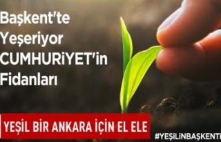 Yeşil bir Ankara için el ele