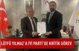 Lütfü Yılmaz'a İYİ Parti'de kritik...