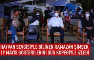 Başkan Şimşek'in özel misafiri