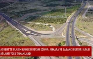 Başkent'te ulaşım hamlesi devam ediyor: Ankara...