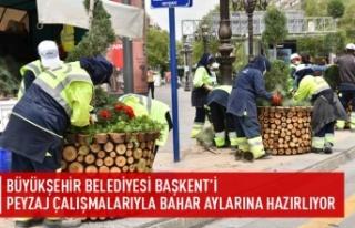 Büyükşehir Başkent'i yaza hazırlıyor