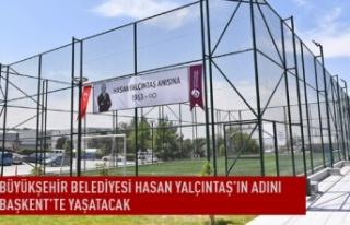 Büyükşehir belediyesi Hasan Yalçıntaş'ın...