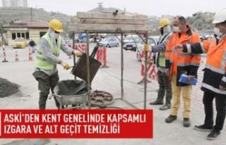 Büyükşehir'den alt geçit ve ızgara temizliği