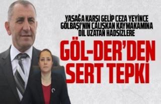 Göl-Der'den Kaymakam Tülay Baydar Bilgihan'ı...