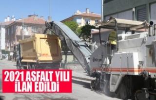 Gölbaşı Belediyesi 2021 yılını asfalt yılı...