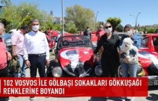 Gölbaşı'nda 19 Mayıs Coşkusu Sokaklara Sığmadı…