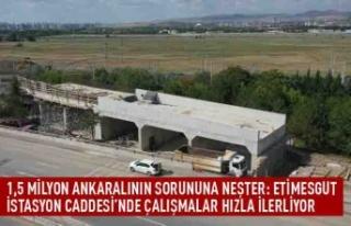1,5 milyon Ankaralının sorununa neşter: Etimesgut...