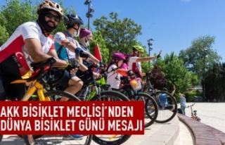 AKK Bisiklet Meclisi'nden Dünya Bbisiklet Günü...