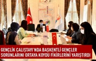 Ankara'da gençler fikirlerini yarıştırdı