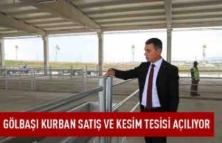Ankara, en modern kurban satış ve kesim merkezine...