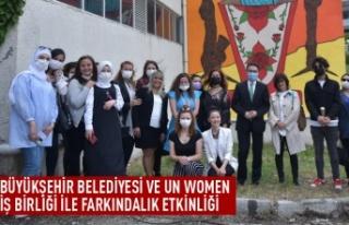 Büyükşehir ile UN Women işbirliğiyle etkinlik