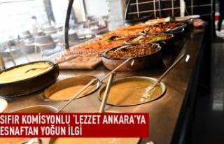 """Lezzet Ankara""ya esnaftan yoğun ilgi"