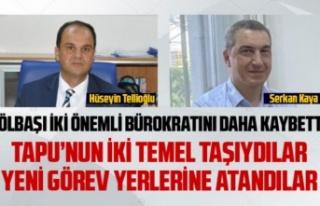 Başarılı bürokratlar Hüseyin Tellioğlu ve Serkan...