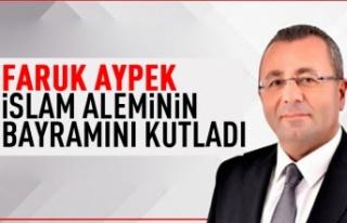 Faruk Aypek'ten Kurban Bayramı mesajı