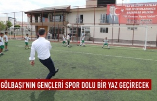 Gölbaşı Belediye Spor Kulübü Yaz Spor Okulları...