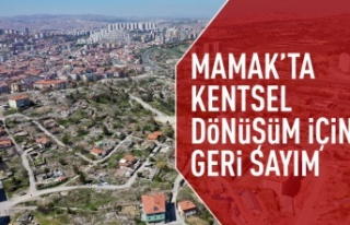 Mamak'ta kentsel dönüşüm için ihale tarihi...