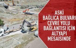 ASKİ,Bağlıca bulvarı-çevre yolu bağlantısı...