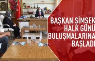 Başkan Ramazan Şimşek, vatandaşlarla buluşmaya...