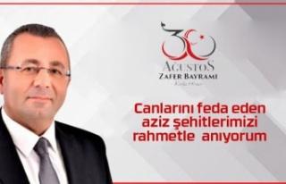 Faruk Aypekten 30 Ağustos mesajı
