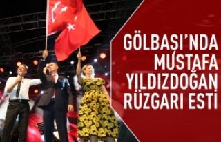 Gölbaşı Belediyesi Sünnet Şenlikleri'nde Mustafa...