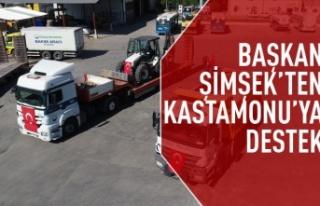 Gölbaşı Belediyesi Yardım Tırları, Kastamonu...