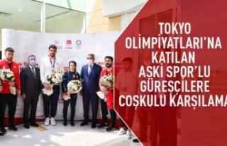 Tokyo Olimpiyatları'na katılan ASKİ spor'lu...