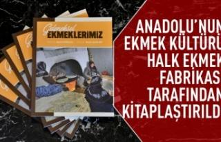 Anadolu'nun ekmek kültürü kitaplaştırıldı