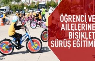 Ankaralı öğrenci ve ailelerine bisiklet sürüş...