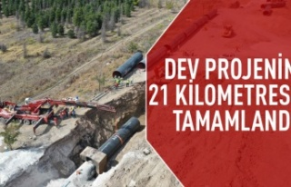 İvedik-Polatlı içme suyu hattı tamamlanıyor