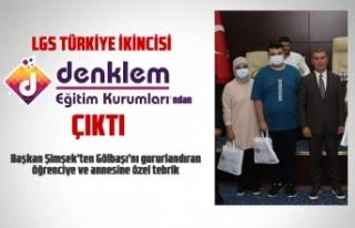 LGS Türkiye ikinci Denklem Eğitim Kurumları'ndan...