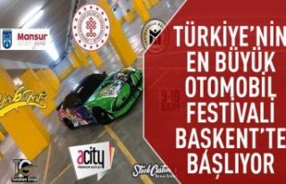 Türkiye'nin en büyük otomobil festivali başlıyor