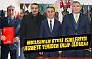 Ali İhsan Tunç ve Nevzat Dulkadir yeniden hizmete...