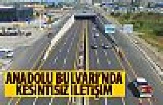 Anadolu Bulvarı'nda kesintisiz ulaşım
