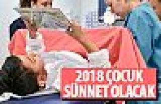 Ankara'da sünnet şöleni