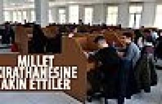 Ankaralılar Millet Kırathanesi'ni sevdi