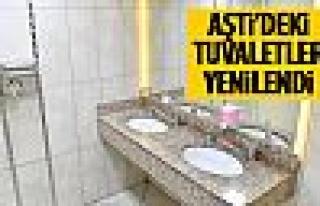 AŞTİ'deki ücretsiz tuvaletler yenilendi