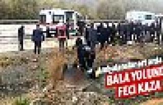 Bala yolunca feci kaza: 30 yaralı