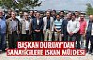 Başkan Duruay, Gölbaşı Sanayiciler Genel Kurulu'nda...