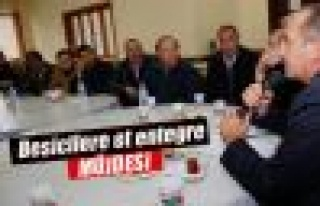 Başkan Duruay'dan Besicilere Et Entegre Tesisi Müjdesi...