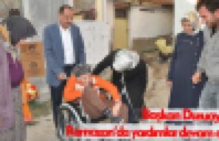 Başkan Duruay'dan Ramazan yardımları