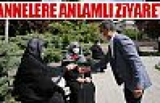 Başkan Şimşek ve Kaymakam Tülay Baydar Bilgihan'dan...