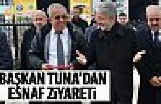 Başkan Tuna İvedik esnafını ziyaret etti
