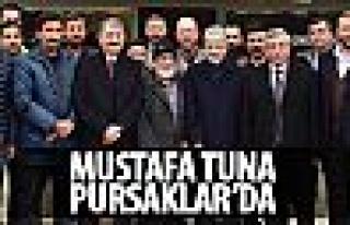 Başkan Tuna Pursaklar'da halkla buluştu