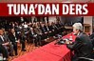 Başkan Tuna'dan şehircilik dersi
