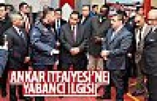 Ghassan Yusuf El Zawawi'den Ankara İtfaiyesi'ne ziyaret