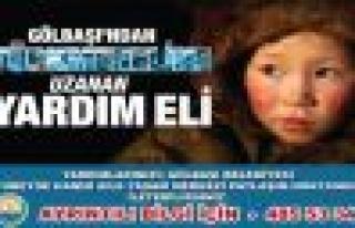Gölbaşı Belediyesi Bayırbucak Türkmenlerine Yardım...