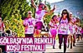 Gölbaşı'nda renkli koşu festivali!