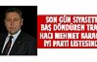 Hacı Karagöz İYİ PARTİ'de